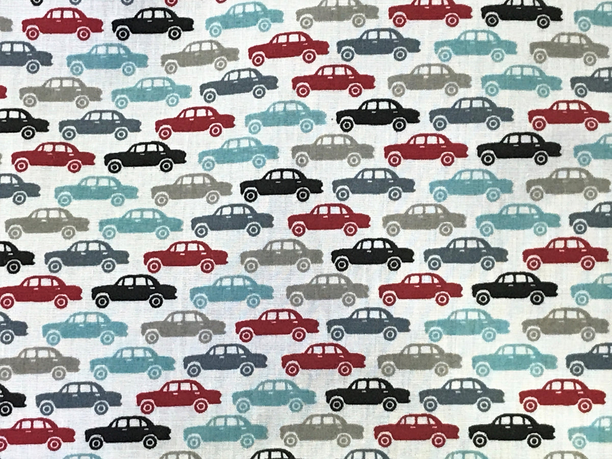 Cars - Poly/Cotton Print