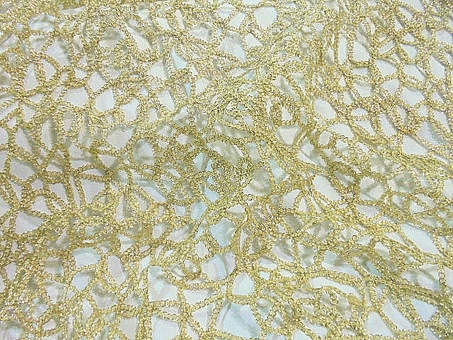 Cord Metallic Lace