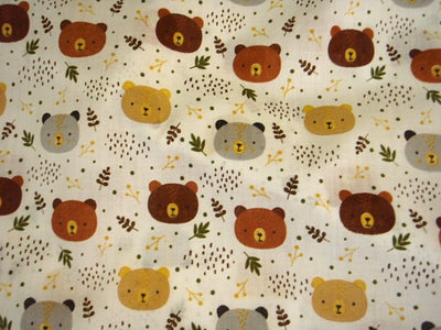 Cute bears - Poly/Cotton Print