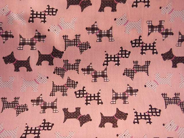 Cute Dogs - Poly/Cotton Print