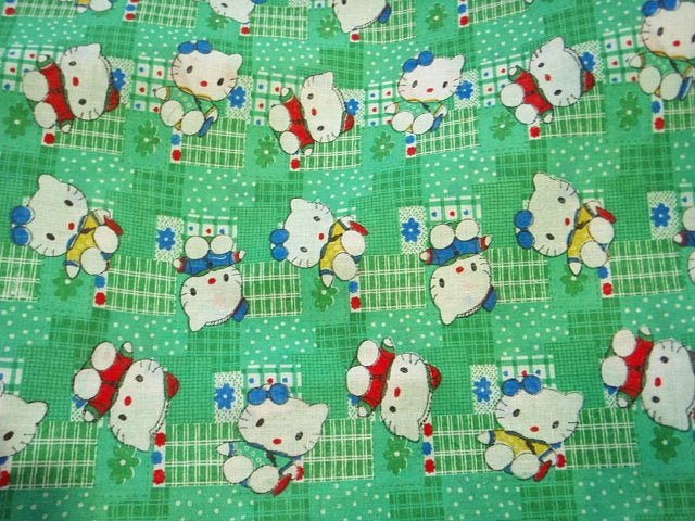 Green Nursery Polycotton Print - END OF LINE