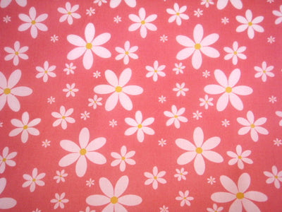 Daisy Flower - Poly/Cotton Print