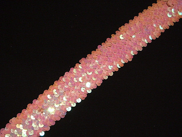 Elasticated Iridescent Sequinned Trim
