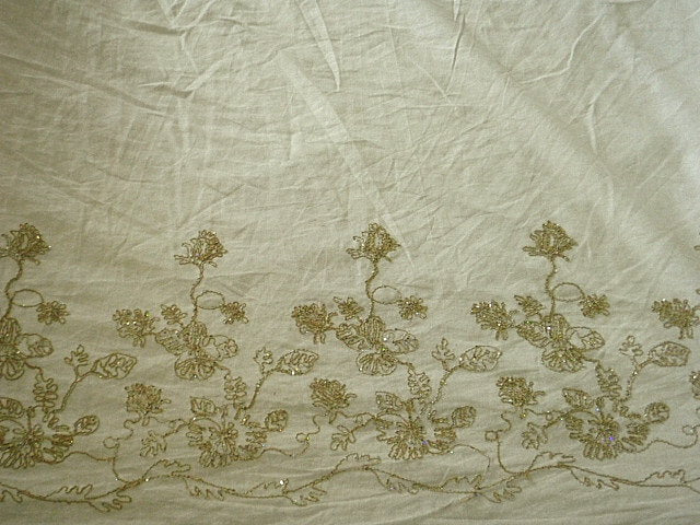 Small Floral - Embroidered Linen