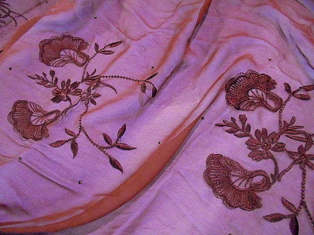 Silk Embroidered Chiffon