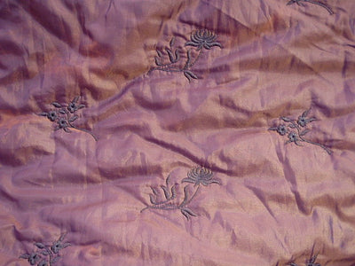 Embroidered Quilted Fabric