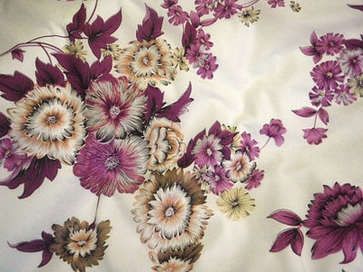 Floral Design 61 - Pure Cotton