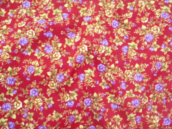 Design 37 - Floral Cotton Print