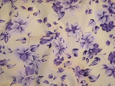 Floral Design 63 - Pure Cotton