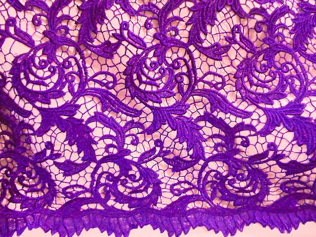 Design 6 - Guipure Lace