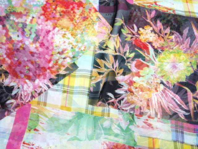 Check - Digital Print Chiffon
