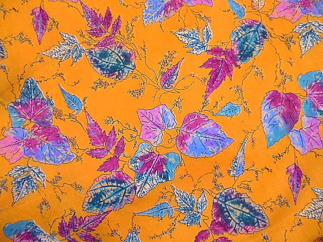 Leaves - Cotton Print