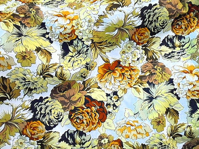 Floral Design 51 - Pure Cotton