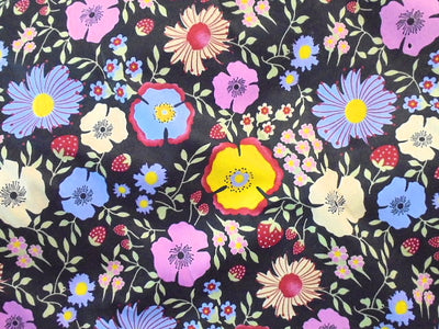 Floral Design 50 - Pure Cotton