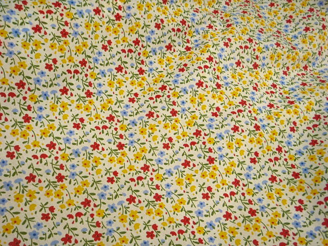 Floral Spring - Poly/Cotton Print