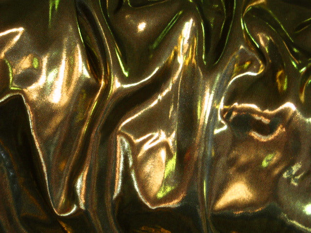 Metallic Foil Liquid Satin