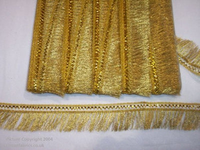Metallic Fringing Trim