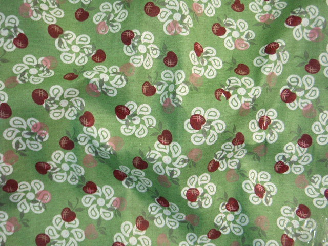 Paisley Cherry - Poly/Cotton Print
