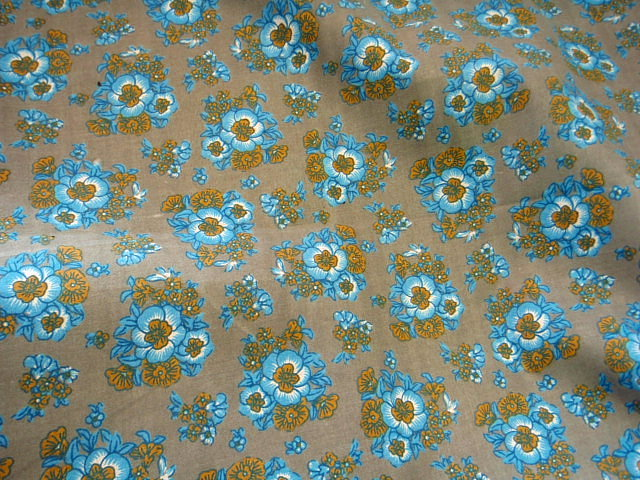 Floral Bloom - Poly/Cotton Print