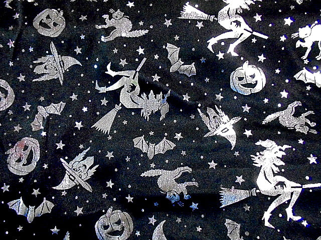 Witches - Halloween Jersey Foil