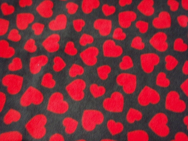 Many Hearts - Fleece Print