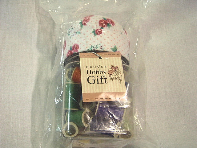 Hobby Gift Pin Cushion Jar (Threads)