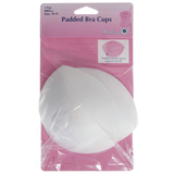 White Padded Bra Cups