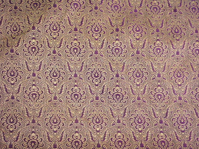 Damask Design 9 - Indian Brocade