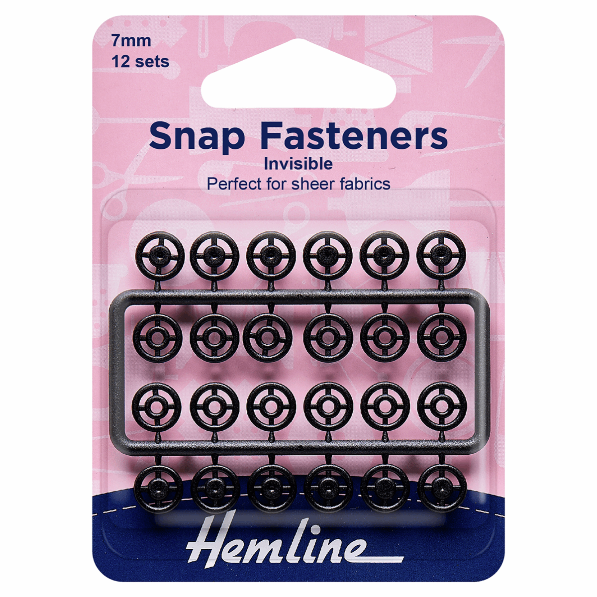 Invisible Snap Fasteners