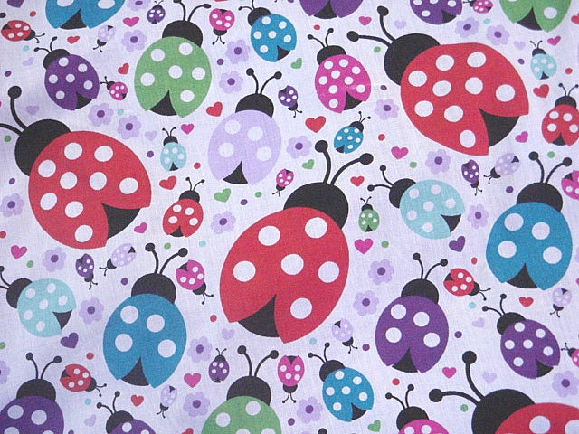 Ladybirds - Poly/Cotton Print
