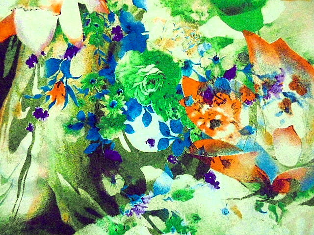 Design 8 - Floral Printed Viscose