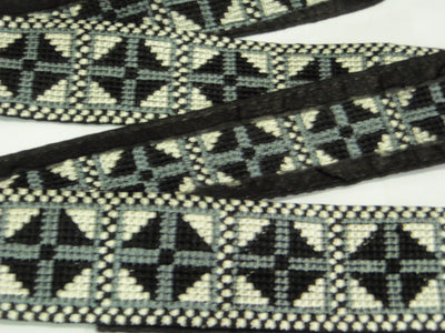 Knitted Monogram Trim - 50mm