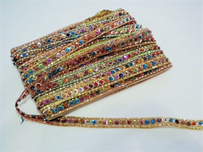 Multi Sequin Trim (15mm)