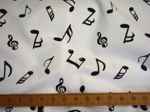 Muscial Notes Drill Fabric