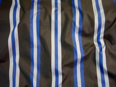 Narrow Striped Crepe Fabric
