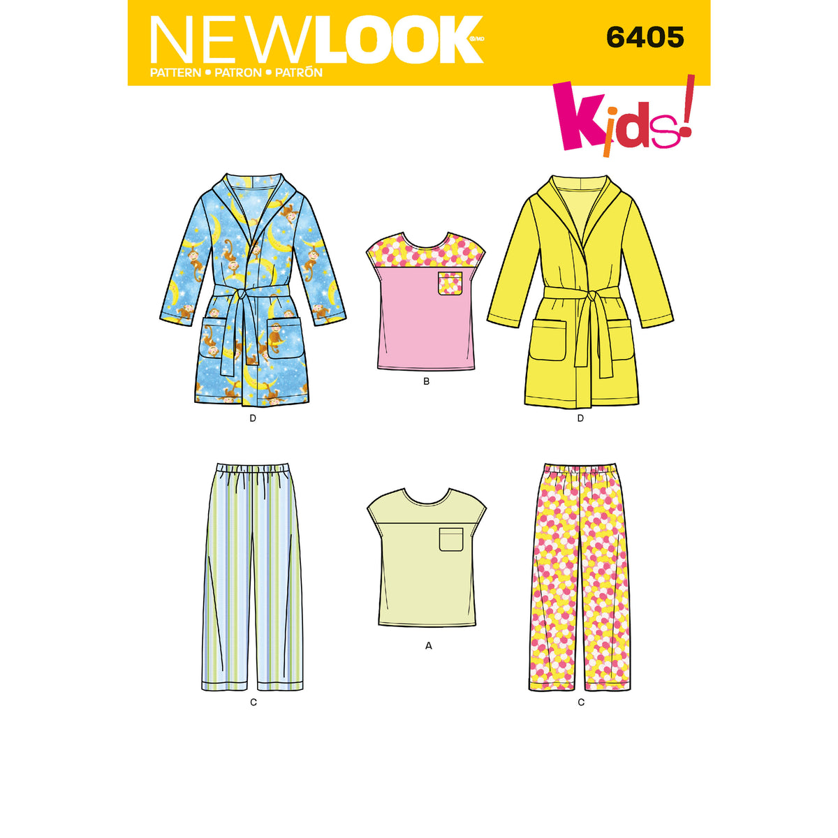 6405 Toddlers' Separates