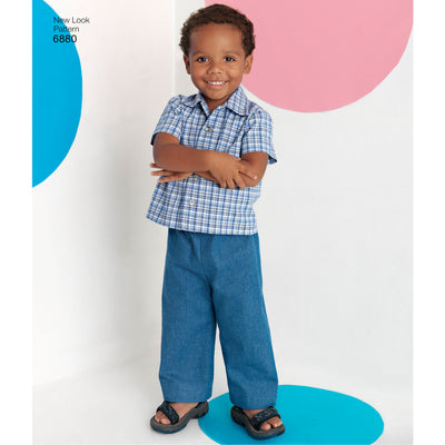 6880 Toddler Separates
