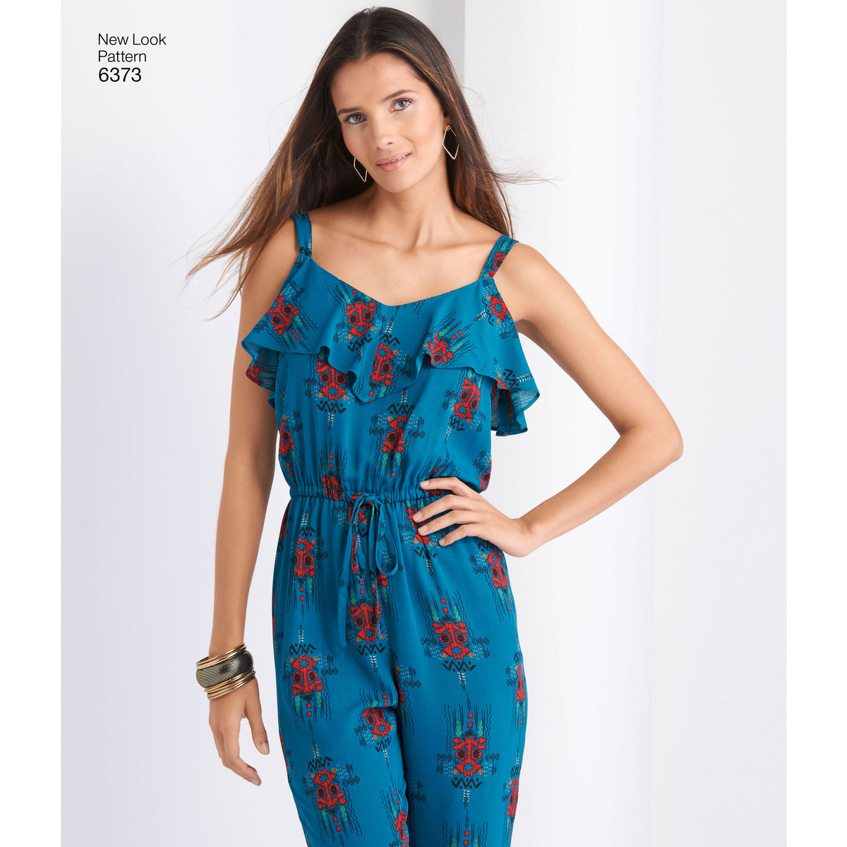 6373 Misses' Jumpsuit or Romper and Dresses