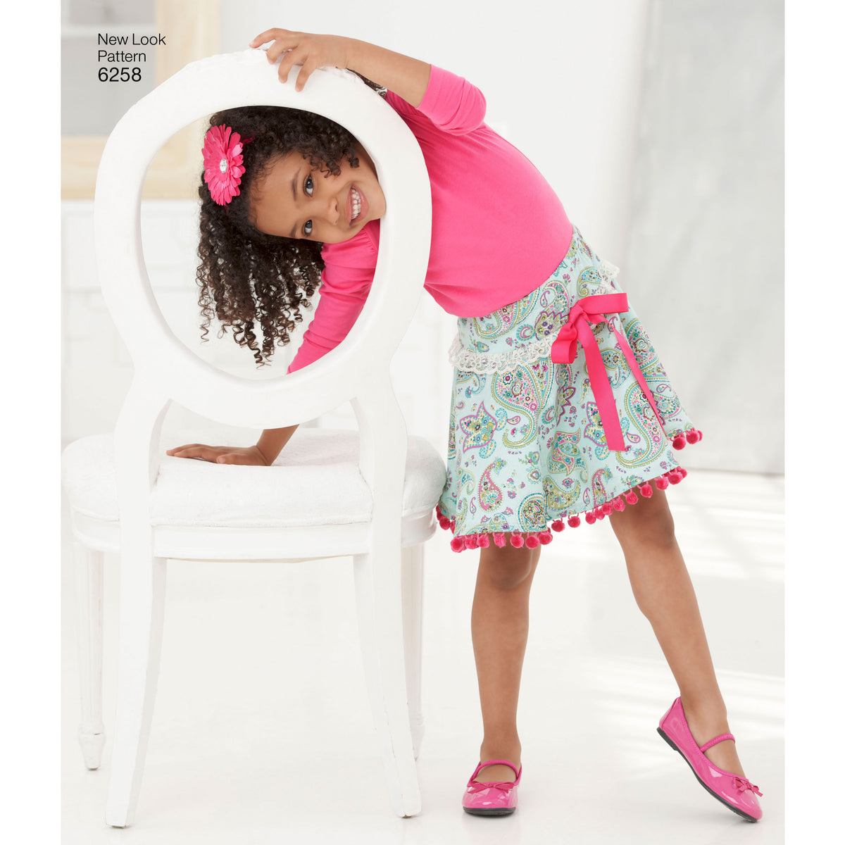 6258 Child's and Girls' Circle Skirts