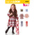 6424 Child's Dress, Top, Vest and Knit Leggings