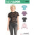6528 New Look Pattern 6528 Women's Tops with Sleeve & Trim Variations