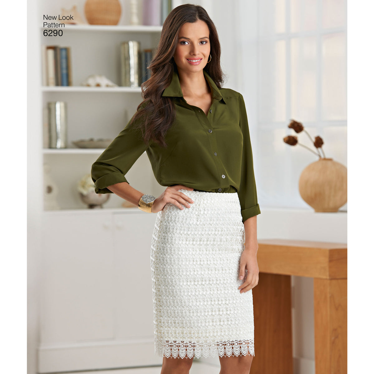 6290 Misses' Shorts, Skirt in Two Lengths and Slim Pants