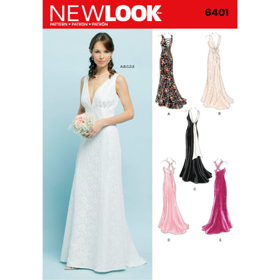6401 Misses Special Occasion Dresses