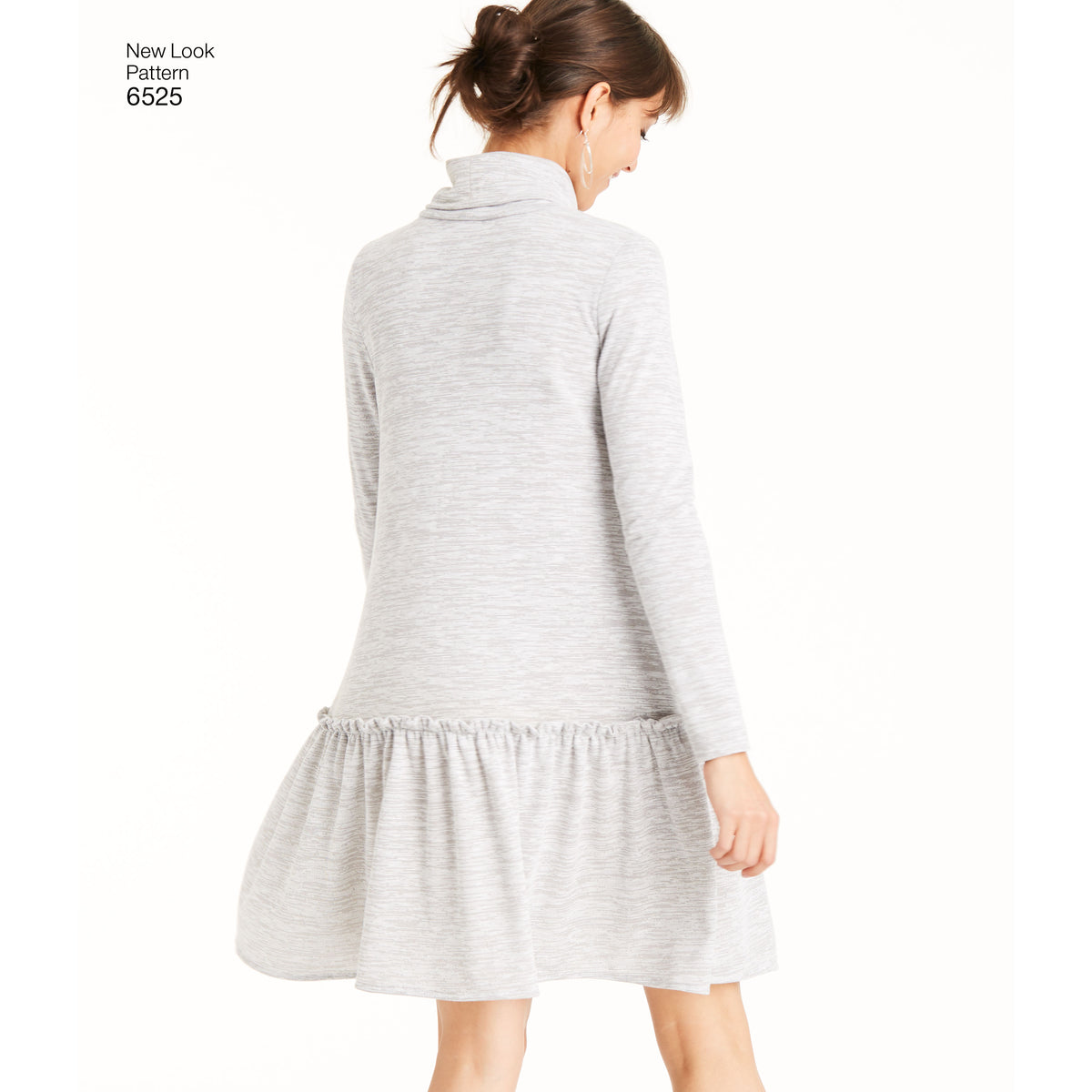 6525 New Look Pattern 6525 Women's Knit Dress