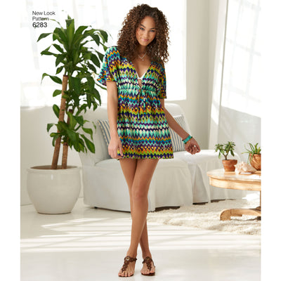 6283 Misses' Mini Dress or Tunic