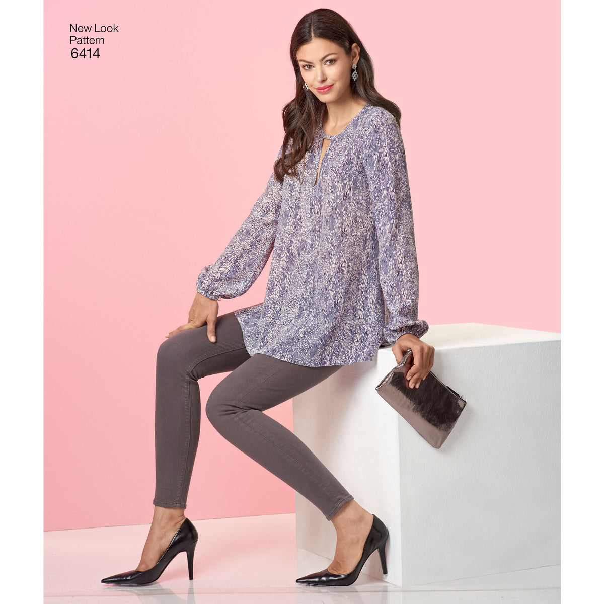 6414 Misses' Tunic and Top with Neckline Variations
