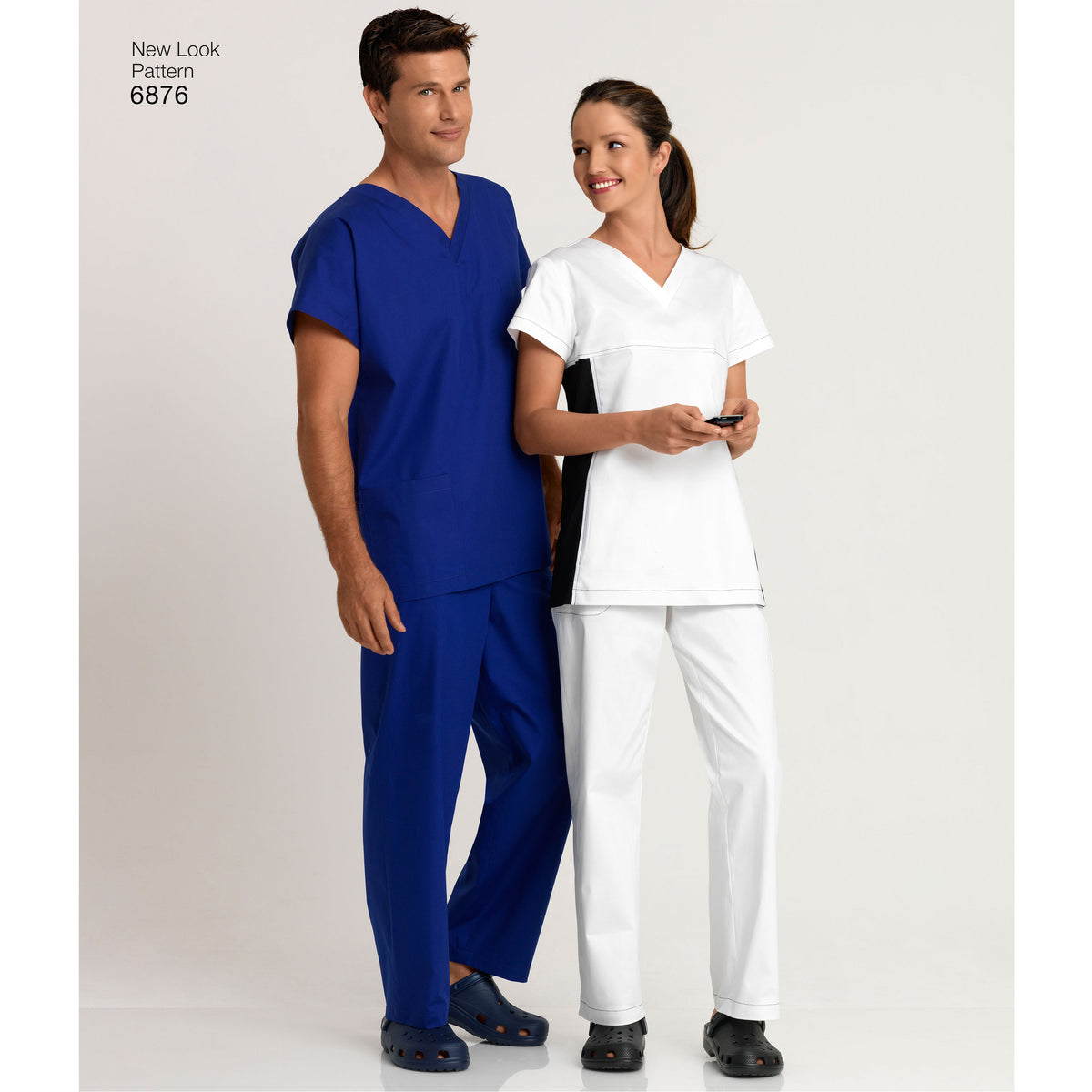 6876 Miss/Men Scrubs