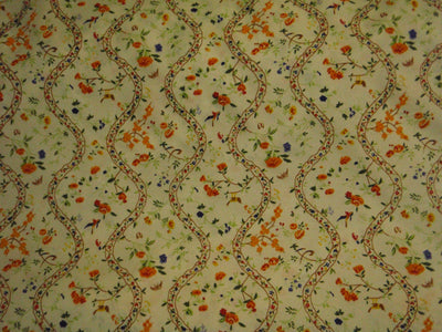 Floral Vine - Poly/Cotton Poplin