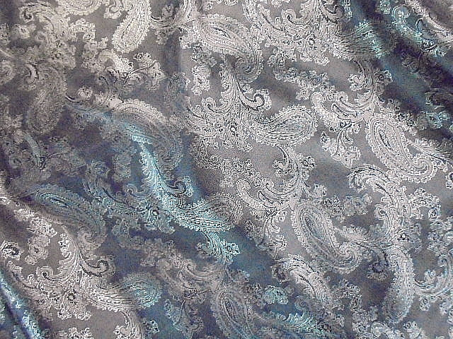 Self-Embossed Design 2 - Paisley Jacquard