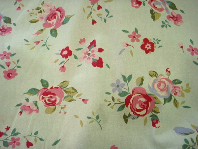 Pink Rose- Cotton Poplin Patchwork